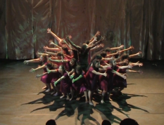 Still from Sasha Ayvazov's Video Recording of the Production