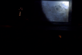 Still from video by Liviu Pasare